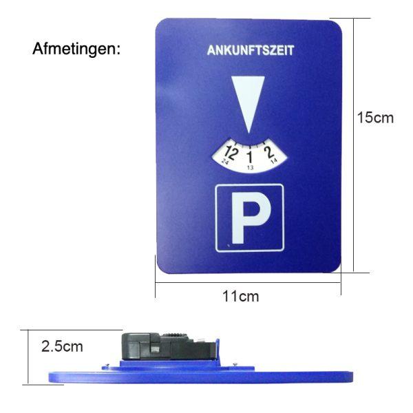 Automatische parkeerschijf